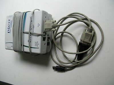 Pico Enviromon data logger with 3 Channel current logger with USB adaptor.