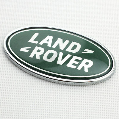 Green Oval ABS Plastic Car Rear Tailgate Emblem Badge For Land Rover Accessories