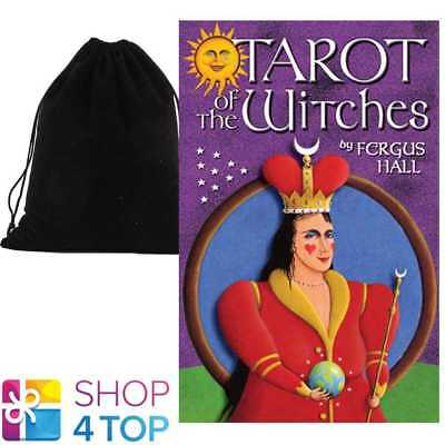 Tarot Of Witches Premier Edition Deck Cards Esoteric Us Games Systems Velvet Bag