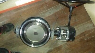 DN300 PN16 Butterfly Valve with Manual Gearbox