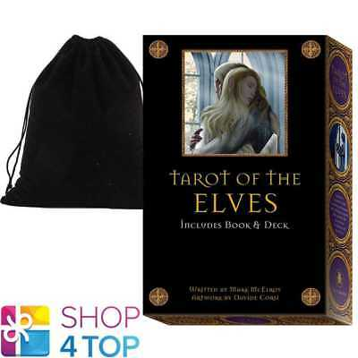 Tarot Of The Elves Cards Deck Book Box Set Lo Scarabeo With Velvet Bag New