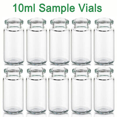 20ml Clear vial 20mm Crimp Top Bevelled Round Bottom Headspace Vials 22.5*75mm