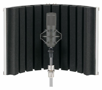 Pronomic Mp-90 Micscreen Diffusor Absorber Mikrofonschirm Studio Mikro Screen