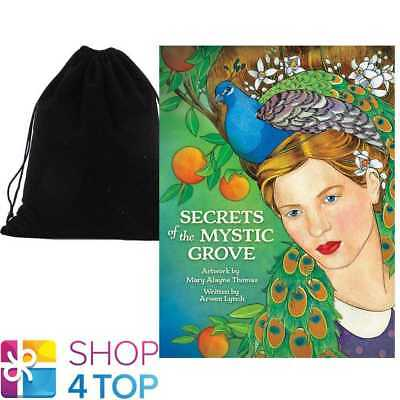 Secrets Of The Mystic Grove Cards Deck Esoteric Us Games Systems With Velvet Bag