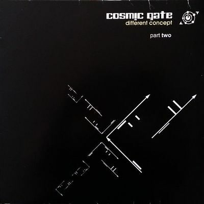 "12"": Cosmic Gate - Different Concept (Part Two) - E-Cutz - EC 2004/2"