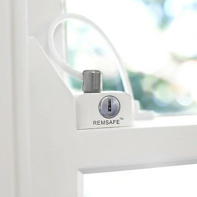 Up to 5 x Remsafe Window Cable Lock (White). Will take $40 for all 5.