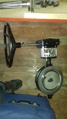 Butterfly Valve DN200 PN16 with manual gearbox
