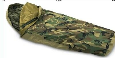 US Army Bivy Bag Gore Tex Bivi Cover Camoflage  Military Surplus DPM Woodland