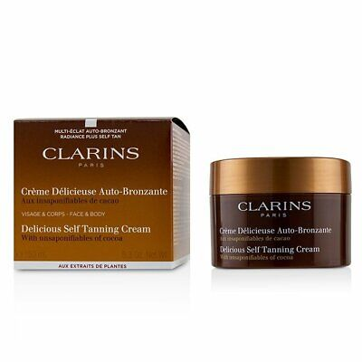Clarins Delicious Self Tanning Cream For Face & Body 150ml Sun Care & Bronzers