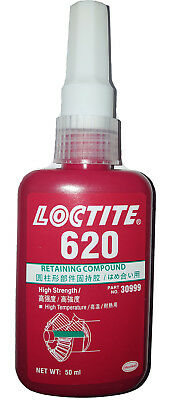 LOCTITE 620 High strength 50ML  Retaining Compound High temperature resistance