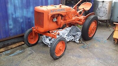 1948 allis charmers vintage classic tractor