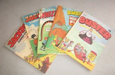 SMALL LOT VINTAGE RETRO SUMMER SPECIAL BUSTER/JACKPOT/WHIZZER & CHIPS 1980's