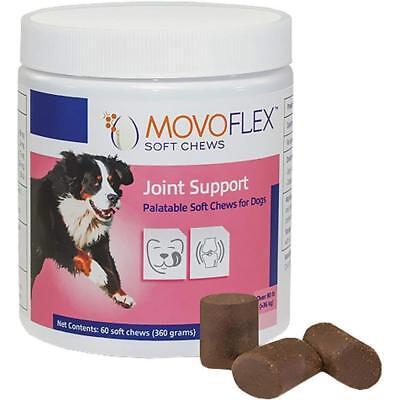 MovoFlex Joint Support Soft Chews for Large Dogs Over 80lbs by Virbac (60 Chews)