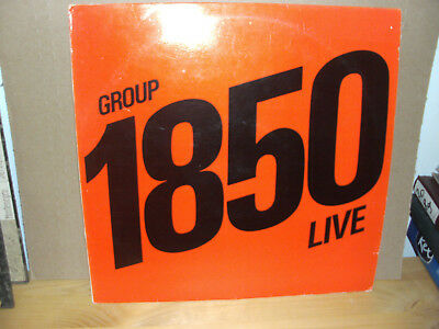 Group 1850 - Live  Vinyl-LP  Different label