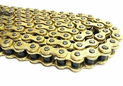 Heavy Duty Motorcycle Drive Chain 520-114 Links Gold