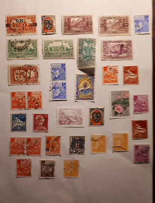 Algeria 34 stamps clearance lot.