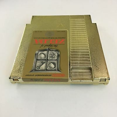 The Legend of Zelda Nintendo NES Gold Game Cartridge Cleaned Tested ~ Ships Free