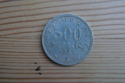 500 Mark 1923 A Inflation Weimarer Republik Deutsches Reich