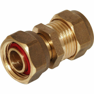 Brass Compression Fittings 8mm/15mm/22mm Plumbing Elbow Tee Olive Coupler Copper