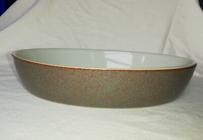 Denby Greystone Oval Oven/serving Dish 11 X 7.75 Earlier Version