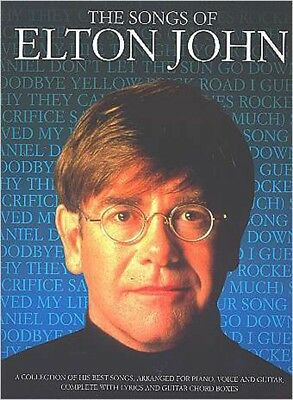 The Songs Of Elton John - Songbook/Notenbuch