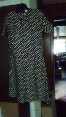 womens vintage dress with matching jacket