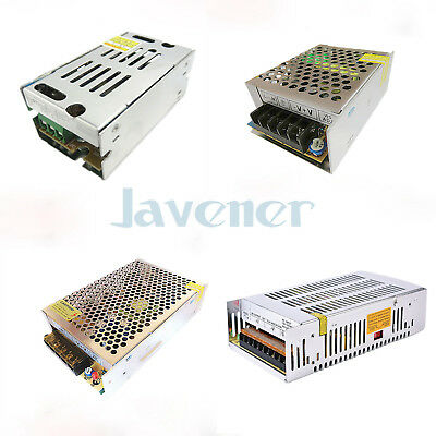 12VDC OUTPUT 110/220VAC Input LED Transformer Switching Power Supply  Regulated