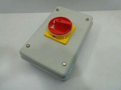Europa Lb1254Pstb 125 Amp 4 Pole Switch Disconnector Rotary Isolator Metal Clad