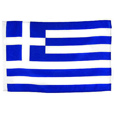 Stockflagge Griechenland 30x45 cm ohne Stock griechische National Fahne Greece