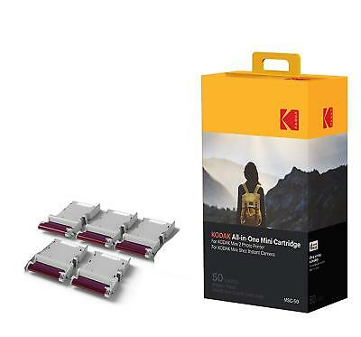 Kodak Mini 2 Photo Printer Cartridge MC All-in-One Paper & Color Ink Cartridge -