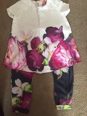 baby girls ted baker Outfit 12-18 months