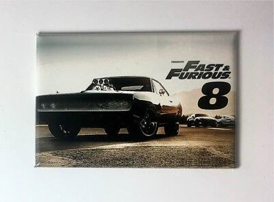 "Magnet Aimant Frigo /""FAST AND FURIOUS FAMILY/"" Longeur 78 mm Hauteur 54 mm"