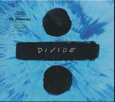 Ed Sheeran Divide ÷ Cd (Standard Edition) 2017