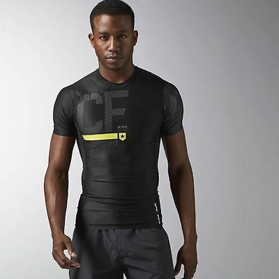 Reebok Mens Crossfit Compression T-Shirt (rrp:£54.99)