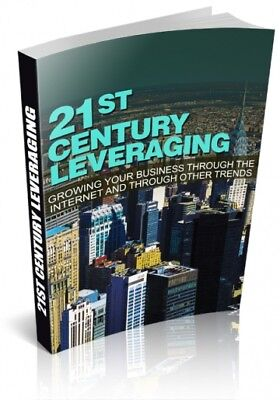 PDF 21st Century Leveraging eBook with MRR Free Shipping