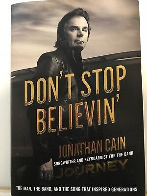 SIGNED Don't Stop Believin' by Jonathan Cain Journey Songwriter and Keyboardist