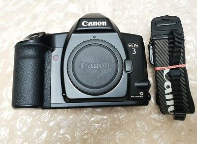Canon EOS 3 film SLR Film Camera Body Only