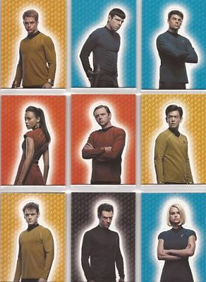Star Trek Movies 2014 - Into Darkness - Foldout Set (9 Cards)