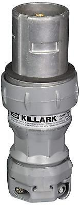 Killark VP6485 Pin and Sleeve Plug, 4 Pole, 60 Amp, 600V