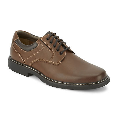 Dockers Mens Lowry Rugged Lace-up Rubber Sole Oxford Shoe with Comfort Features