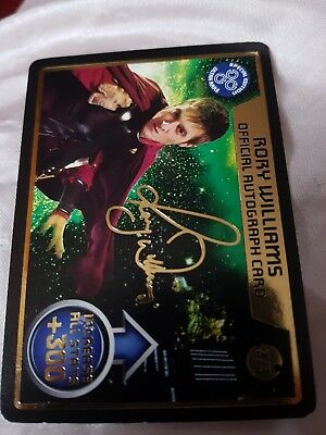 doctor who monster invasion ultimate x ultra rare auto card x rory Williams x