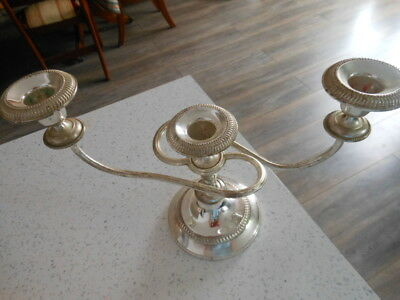 Candlelabra 3 Arm - Silver Plated?