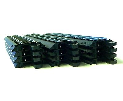 "HO Scale Model Railroad Trains Layout Bachmann EZ Track Steel 12 Pcs 9"" Straight"