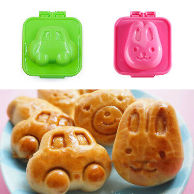 1/6Pc Boiled Egg Sushi Rice Mold Bento Maker Sandwich Cutter Kitchen Tool Gadget