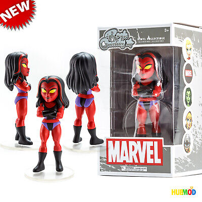FUNKO Red She-Hulk Marvel Disney Store Exclusive Rock Candy Collectible Figure