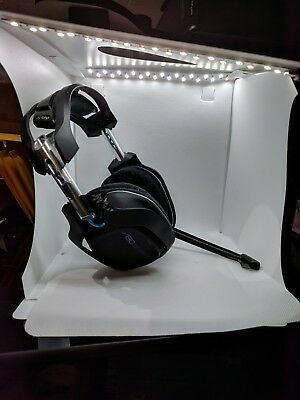 ASTRO A50 Black/Blue Wireless Gaming Headset for PS4/PS3/PC/Mac