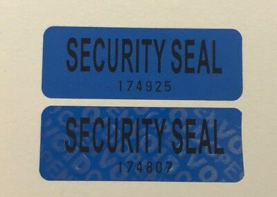 55  Tamper Proof Security Seal Labels (VOID OPEN) Stickers  5.5*2 cm  GENUINE .