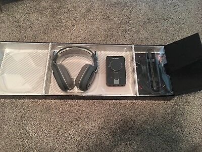 Astro A40 2013 MixAmp Edition Dark Grey Headband Headsets for PS4/PS3/PC/Mac