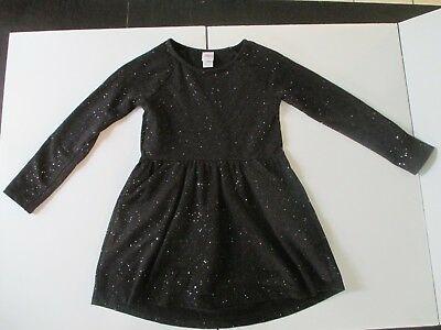 Circo Girl's size Medium 7/8 Black dress with sparkles excellent condition