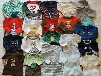 Baby Boys Newborn 0/3 3/6 Months Fall Winter Clothing Outfits clothes Lot